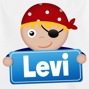 Little Pirate Levi - Kids' T-Shirt
