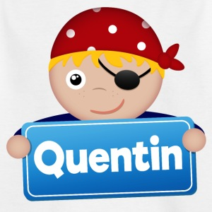 Little Pirate Quentin - T-shirt barn