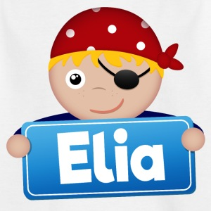 Little Pirate Elia - Kids' T-Shirt