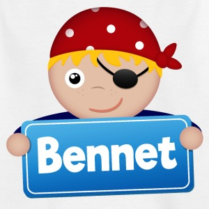 Little Pirate Bennet - Kids' T-Shirt