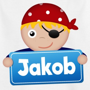 Little Pirate Jakob - T-shirt barn