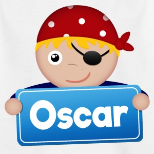 Little Pirate Oscar - T-shirt barn