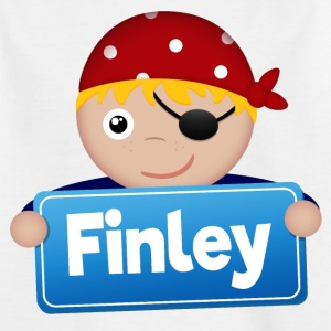 Little Pirate Finley - Kids' T-Shirt