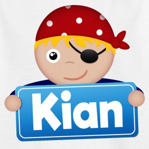 Little Pirate Kian - Kids' T-Shirt