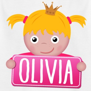 Little Princess Olivia - Kids' T-Shirt
