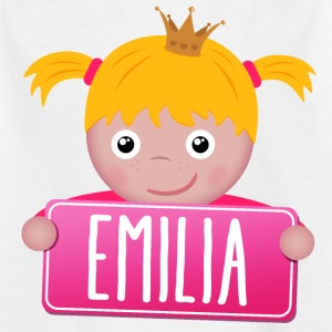Little Princess Emilia - Kinderen T-shirt