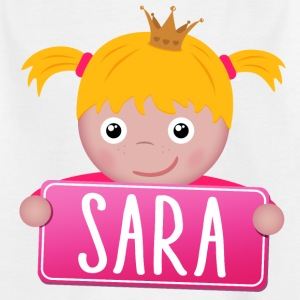 Little Princess Sara - T-shirt barn
