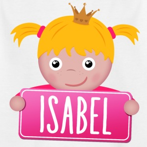 Little Princess Isabel - Børne-T-shirt