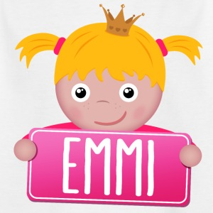 Little princess Emmi - Kids' T-Shirt
