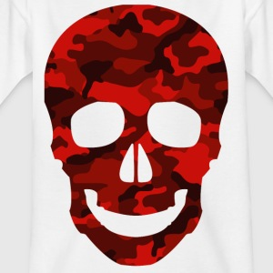 Red Skull CAMO TEES - Kinder T-Shirt