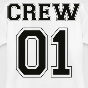 CREW 01 - Black Edition - Kinder T-Shirt
