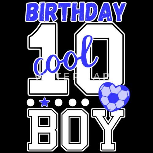 10 Geburtstag Jungs Cool Birthday Boy Kinder T Shirt