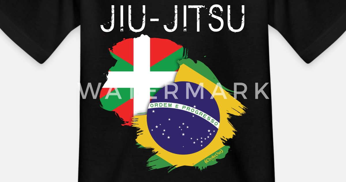 87e27bd1d8 Jiu-jitsu  Euskadi-Brasil Camiseta niño