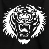 Roaring Tiger One Colour by Cheerful Madness!! - Kids' T-Shirt