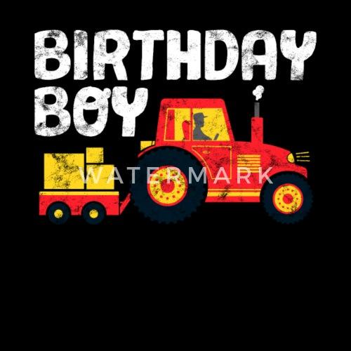 Traktor Geburtstag Shirt Geburtstagskind Kinder T Shirt Spreadshirt