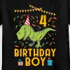 Birthday Boy - 4. Geburtstag - Kinder T-Shirt