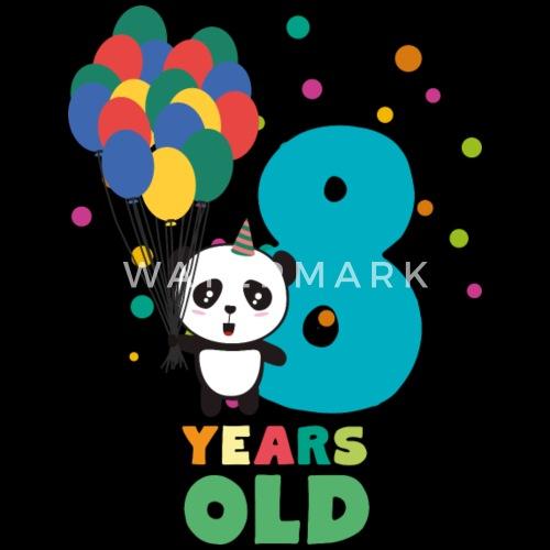 Eight Years 8th Birthday Party Panda Skloe By Kelzo