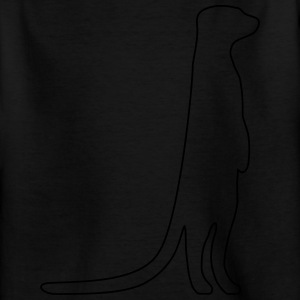 Meerkat outline - Kids' T-Shirt