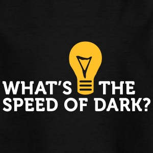 Hva er Speed ​​of Dark? - T-skjorte for barn