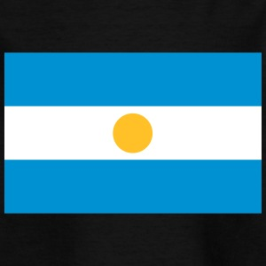 Nationalflagge von Argentinien - Kinder T-Shirt