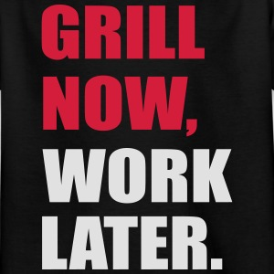 grilling - Kids' T-Shirt