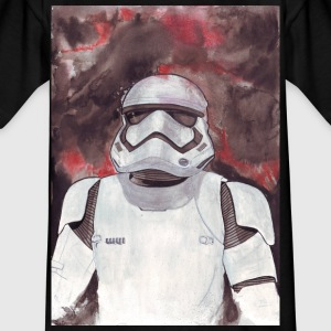 Stormtrooper Galaxy Art - T-skjorte for barn