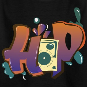 HIP HOP - T-skjorte for barn