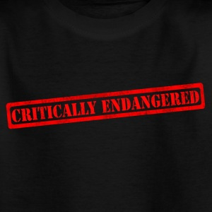 Critically endangered - Kids' T-Shirt