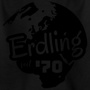 Erdling seit 1970 / Birthday-Shirt - Kinder T-Shirt