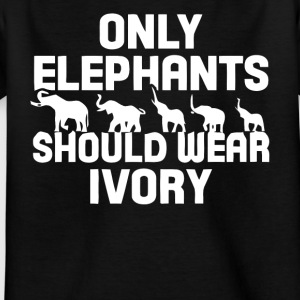 Perfect gift for elephant lover shirt - Kids' T-Shirt