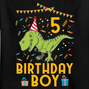 Birthday Boy - 5. Geburtstag - Kinder T-Shirt