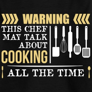 This Chef talk about Cooking - Kids' T-Shirt