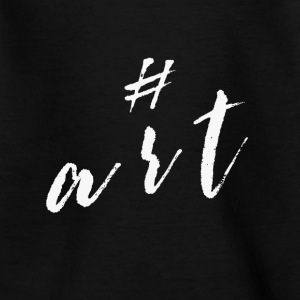 hashtag art schirt - Kinder T-Shirt