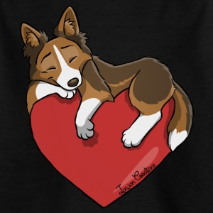 Border-Collie Charbonne - Kinder T-Shirt