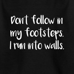 Footsteps - Kids' T-Shirt