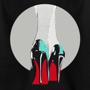 High heels sales manolos pop sexy model catwalk - Kids' T-Shirt