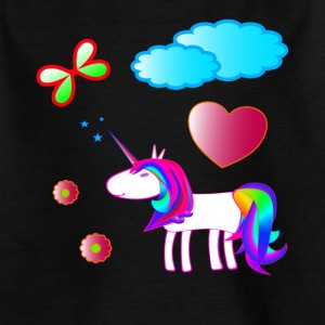 magic Unicorn - Lasten t-paita
