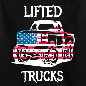 Lifted Trucks getunte offorad Jeep Autos - Kinder T-Shirt