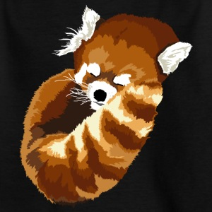 Sleeping Red Panda - Kids' T-Shirt