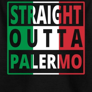 Straight outta Italia Italy Palermo - Kids' T-Shirt