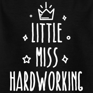 Little miss Hårt - T-shirt barn