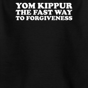 Yom kippur the fast way to forgivness - Kids' T-Shirt