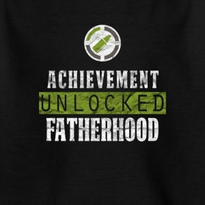 Papa Papa Unlocked Paternité shirt cadeau - T-shirt Enfant