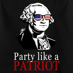 Celebration like a patriot! George Washington gift - Kids' T-Shirt