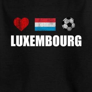 Luxembourg Football Shirt - Luxembourg Football Jers - T-shirt Enfant