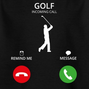 golf golf appel d'appel mobile - T-shirt Enfant