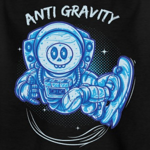 anti gravity space surfing - Kinder T-Shirt