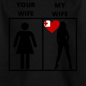 Tonga gift my your wife - Kids' T-Shirt