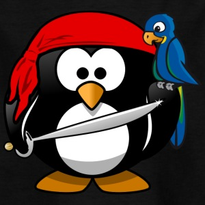Pirate Penguin pirater - T-shirt barn