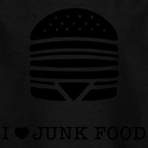 I love junk food / J'aime la malbouffe - T-shirt Enfant